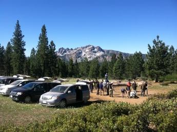 Cornell sound recording workshop in the Sierras
